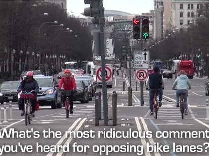 What's the stupidest complaint about building bike lanes?