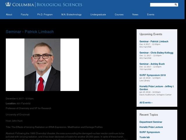 Seminar - Patrick Limbach