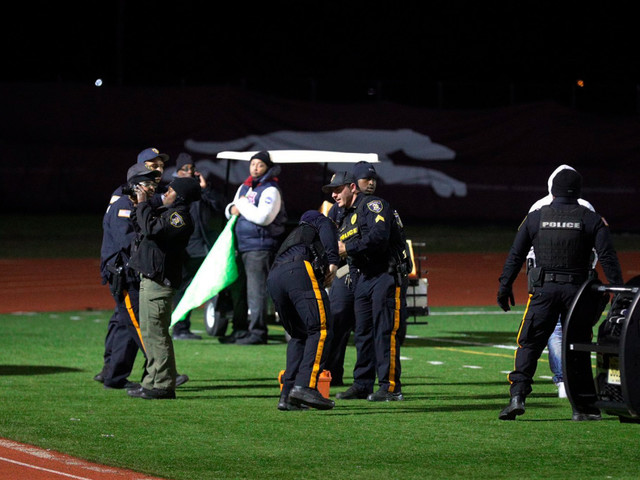 Alleged gunman, victim among 6 charged after game shooting