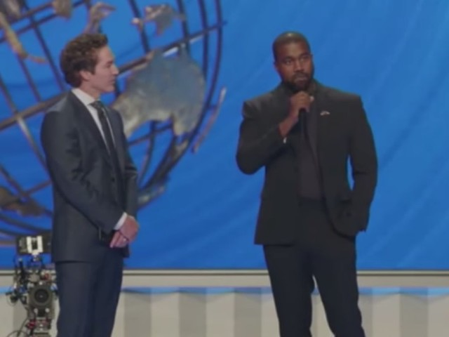 Here's what Kanye West told worshippers at Joel Osteen's megachurch on Sunday