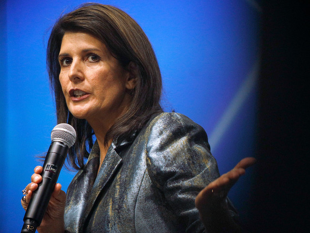 Nikki Haley Says Dylann Roof 'Hijacked' Confederate Battle Flag