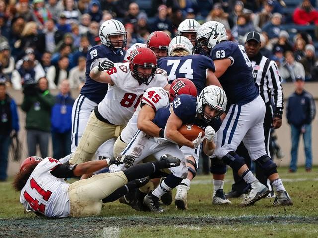 Football 2017: Harvard 3, Yale 24