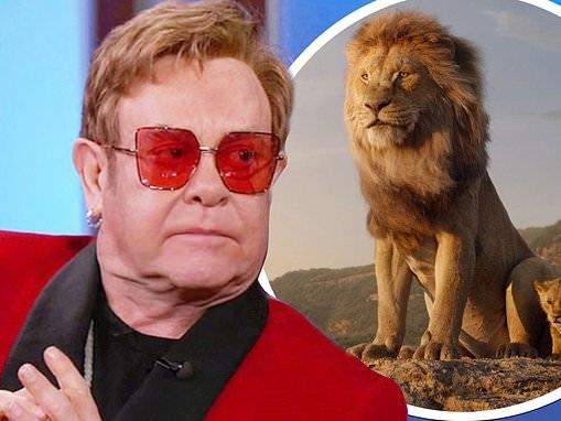 Sir Elton John says producers 'messed up' 2019 Lion King remake