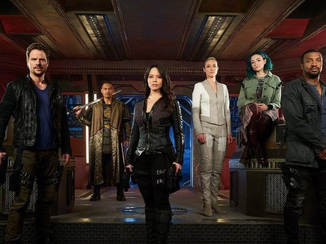 After Syfy canceled Dark Matter, MGM wanted to save the show — and cross it over with Stargate