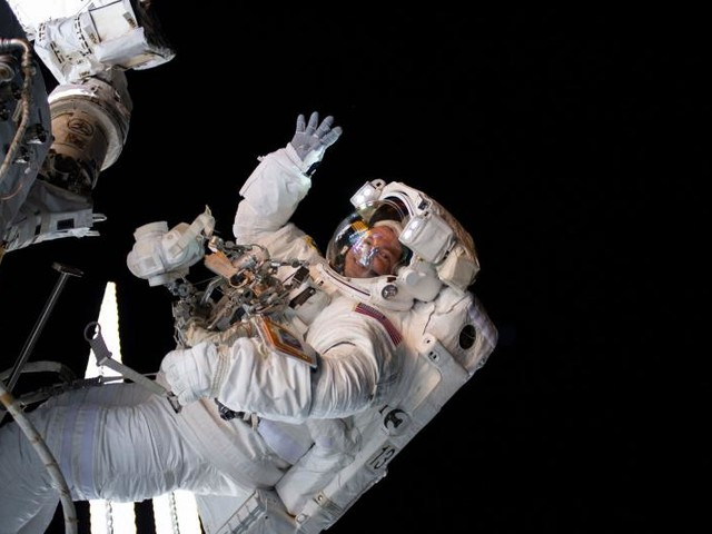 Watch live: Astronauts begin series of complex spacewalks to repair ISS tool