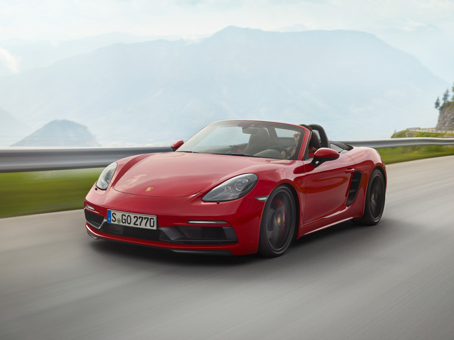 2018 Porsche 718 Boxster / Cayman GTS: The Usual Formula, Now for Fours – Official Photos and Info