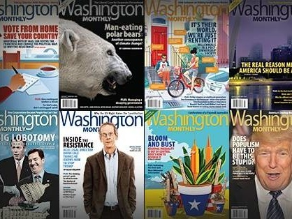 It's the Best Time of Year to Support the Washington Monthly
