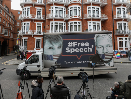Ecuador Backs Down: Foreign Ministry Says It Has 'No Plans' To Expel Assange