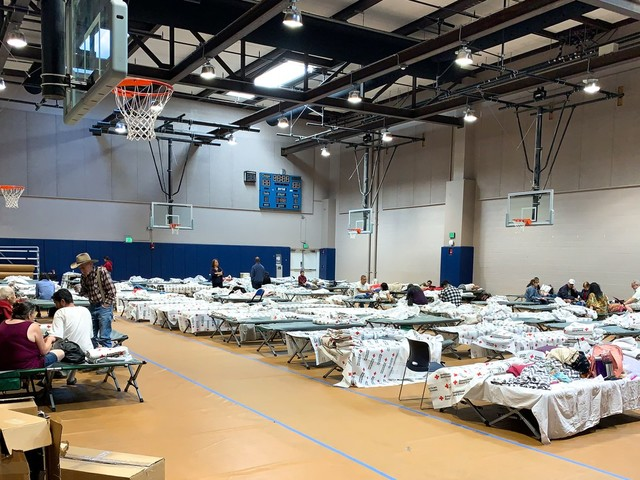 How evacuees are coping with the Tick fire
