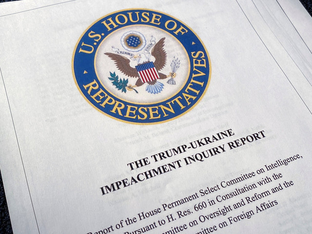 Dueling impeachment reports: Democrats claim 'evidence' of Trump misconduct, Republicans say there isn't any (READ HERE)