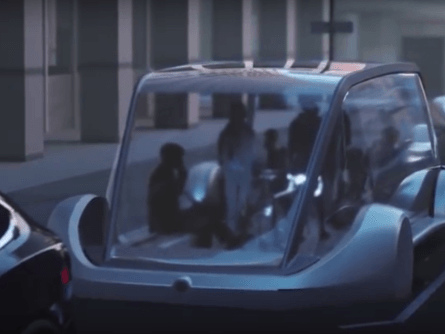 Did Tesla's Minibus Just Make A Cameo In Boring Video?