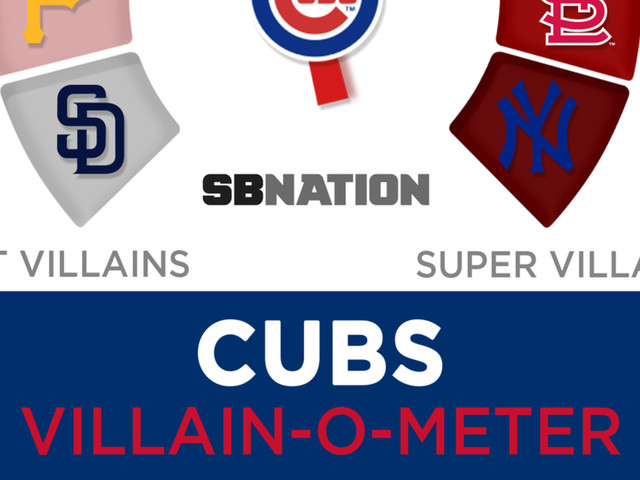 Thanks to Anthony Rizzo's slide and Joe Maddon, the Cubs are now more villainous