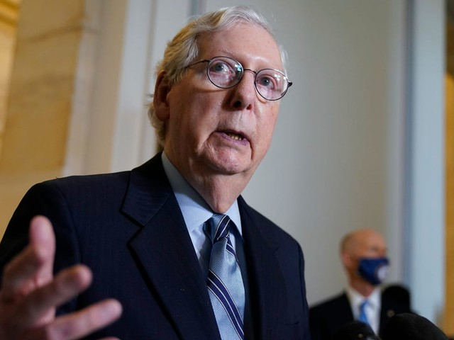 McConnell said Senate GOP 'undecided' on commission to investigate Jan. 6 Capitol siege. 8 Senate Republicans voted against certifying the election after the attack.