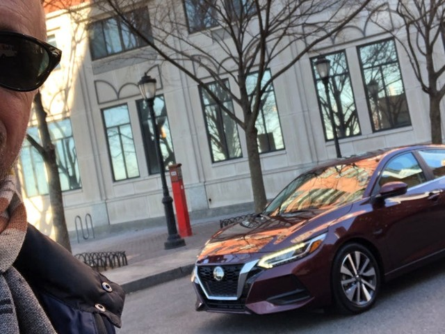 I took a new $24,000 Nissan Sentra SV on a first drive to find out if this basic yet stylish sedan is a good deal — here's the verdict