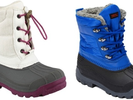 TransCo Kid's Snow Boots only $12.99!