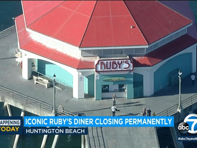 Ruby's Diner on Huntington Beach Pier to close doors permanently