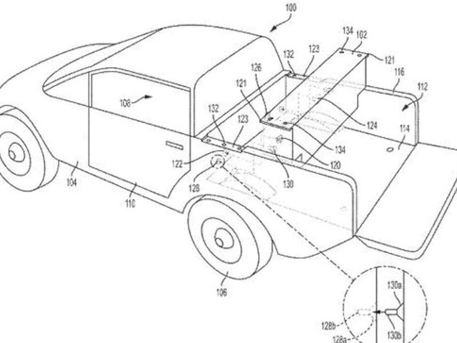 Rivian Files Patent For Removable Auxiliary Battery That Sits In A Pickup's Bed