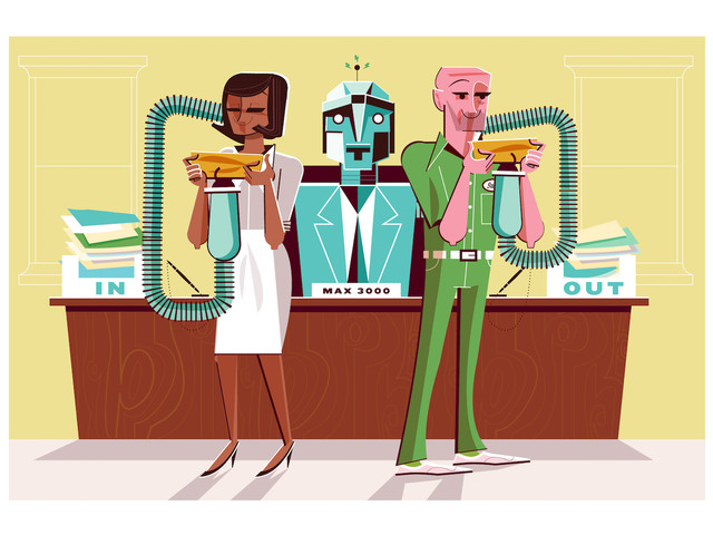 Move Over, Managers: Are Robots on the Rise?