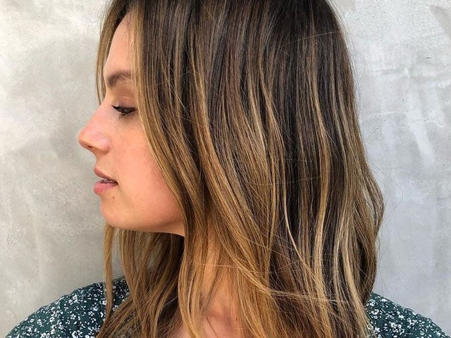 How To Highlight Dark Hair — & Make It Look Natural