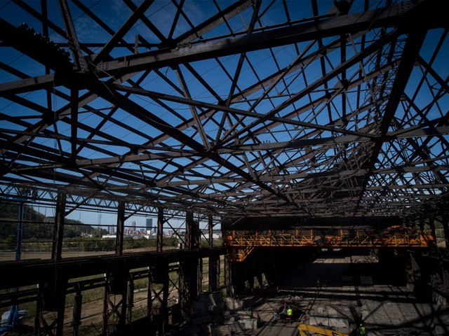 Former Steel Mill Forges New Beginning With Groundbreaking