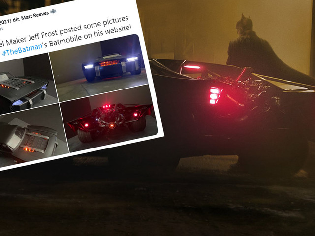 Batman Goes Basic As New Pictures Seemingly Reveal The Upcoming Batmobile