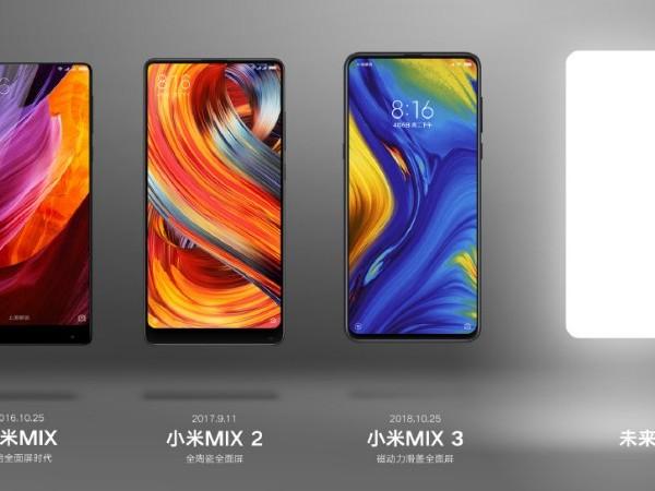 Xiaomi Teases a New Mi Mix Series Phone, Could Be Mi Mix 4