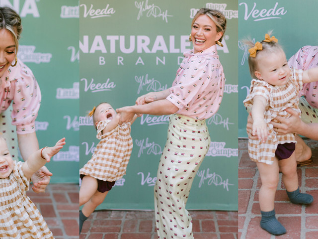 Hilary Duff & Daughter Banks Look Like They're Having the Best Time at Her Launch Event!