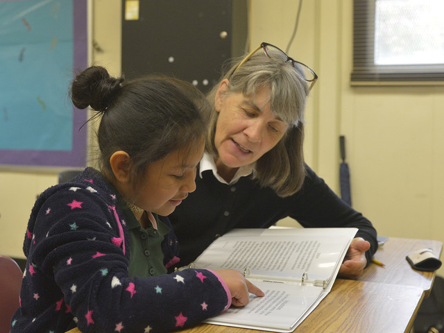 HELPS Reading Program in action at Montclaire Elementary