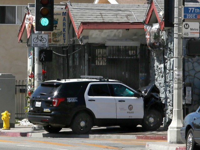 Four more cadets arrested as investigation of stolen LAPD cruisers continues