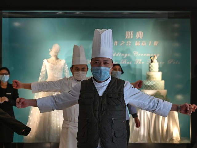 A 5-star hotel in Wuhan, the epicenter of the coronavirus outbreak, has opened its doors to emergency workers and stranded guests. Here's what it's like inside.