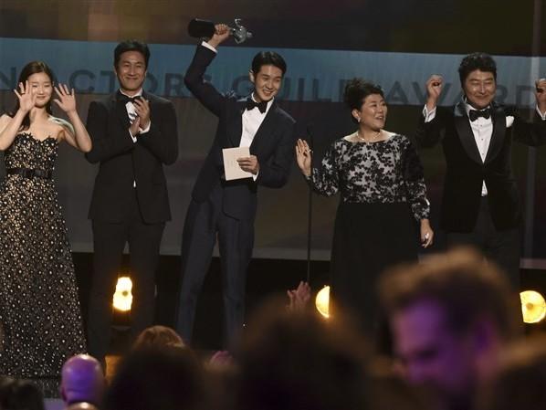 'Parasite' wins big at SAG Awards