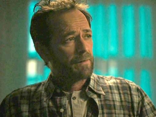Luke Perry comforts on-screen son in sweet final scene on Riverdale weeks after tragic passing