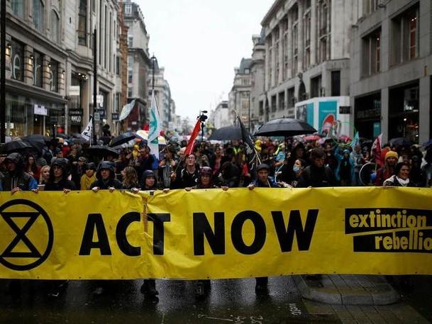 London Bans Extinction Rebellion Protests After Blackrock Offices Targeted
