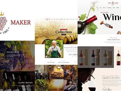 Wine Maker - Wine, Winery Theme (Retail)