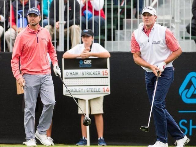 Golf: Sean O'Hair, Steve Stricker win QBE Shootout after O'Hair's eagle