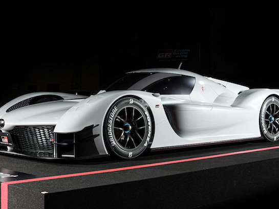 Hybrid Toyota Hypercar Could Cost a Cool $1 Million