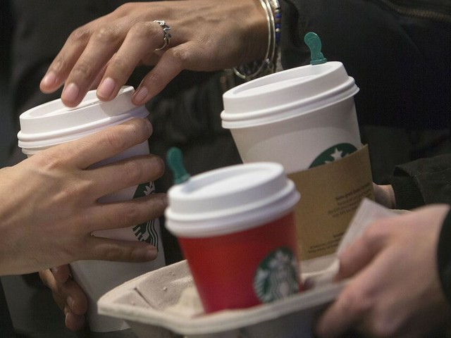 Starbucks shuts some Manhattan stores over possible protests