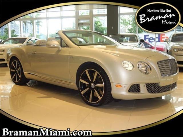 2013 Bentley Continental--GTC