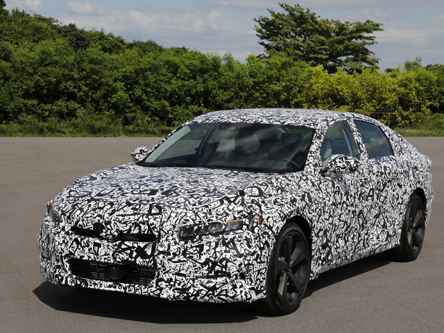 2018 Honda Accord Kills the V6, Adds Type R Engine
