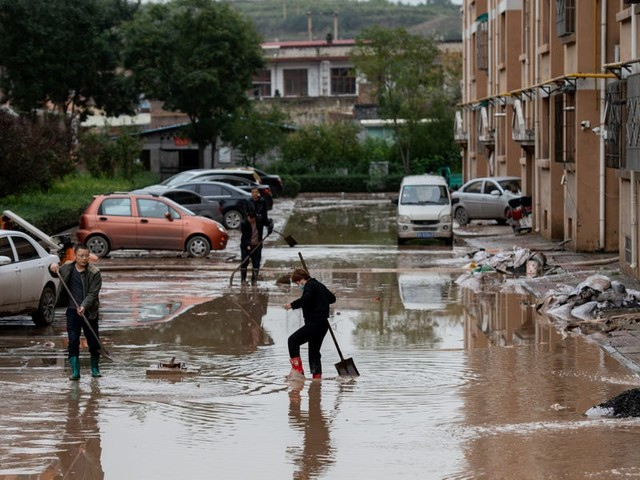 China's biggest coal-producing region was hit by floods at the worst possible time, as the country's energy supplies are already strained