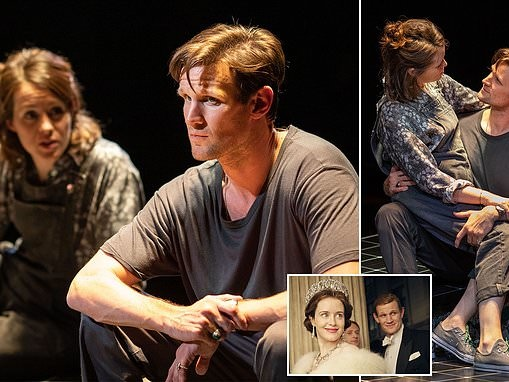 Right royal on stage reunion: LUKE JONES watches The Crown stars Matt Smith and Claire Foy in Lungs