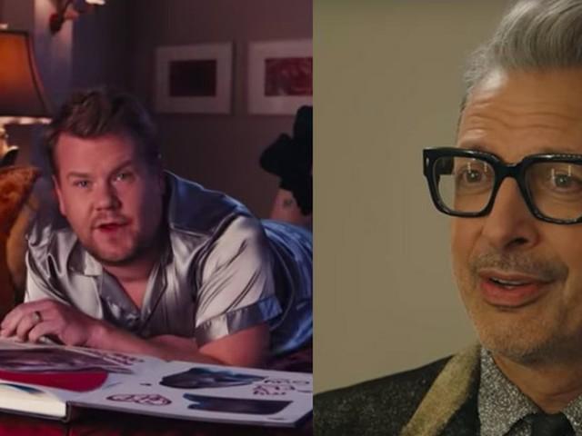James Corden's 'thank u, next' parody is a love song for Jeff Goldblum