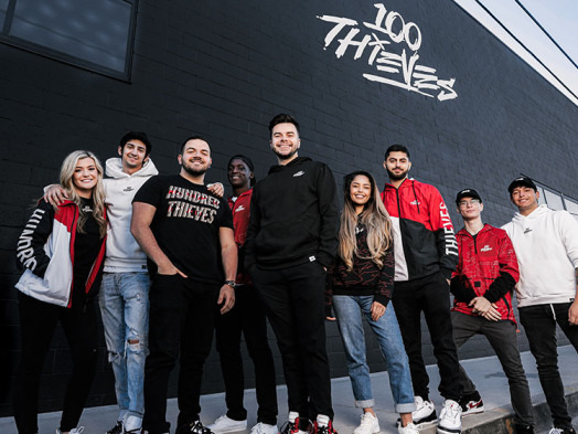 Esports Organization 100 Thieves Unveils New Facility in Los Angeles