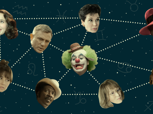 Golden Globes Nominees as Zodiac Signs