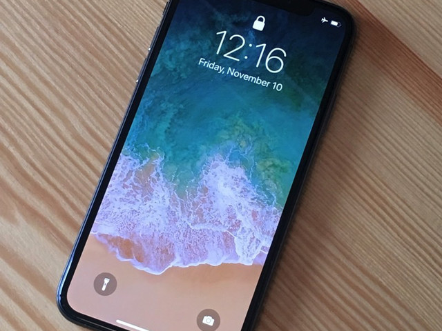 The iPhone X will be delivered to your door in just a week