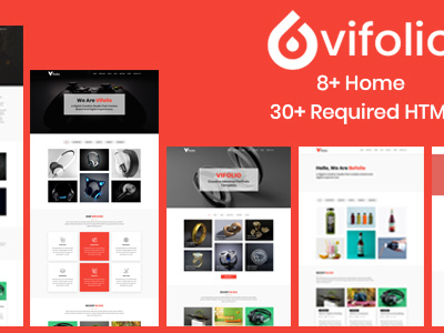 Vifolio - Creative Minimal Portfolio Template (Portfolio)