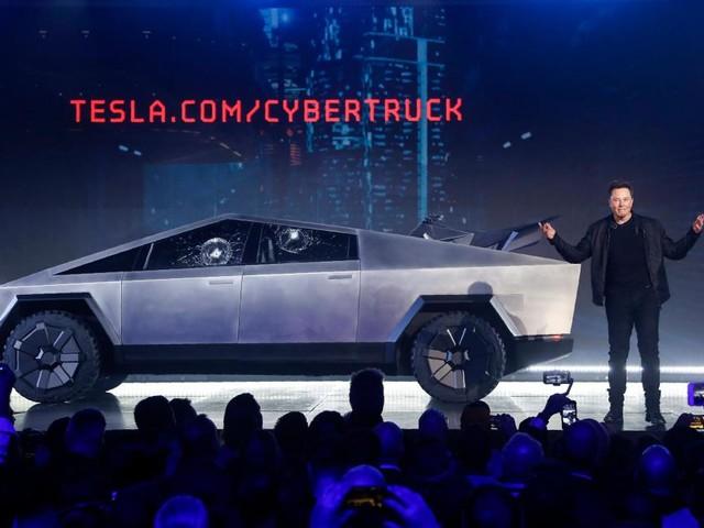 Elon Musk touts 146,000 orders for Tesla's electric 'Cybertruck'