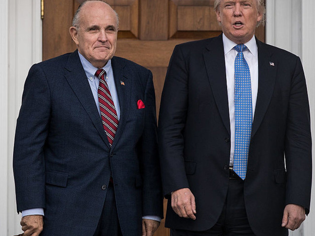 President Trump fires back over news that Rudy Giuliani is under investigation for Ukraine dealings