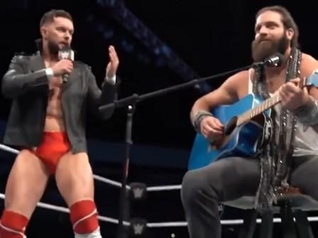 "Watch WWE Wrestlers Elias & Finn Bálor Cover Bradley Cooper & Lady Gaga's ""Shallow"""