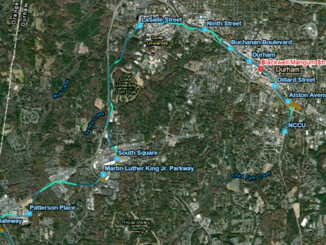 Duke balks on regional light rail project, dooming it for now